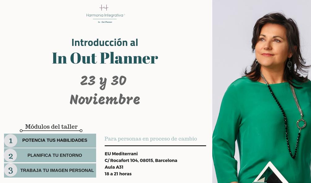 Introducción al In Out Planner, taller dirigido a personas en proceso de cambio