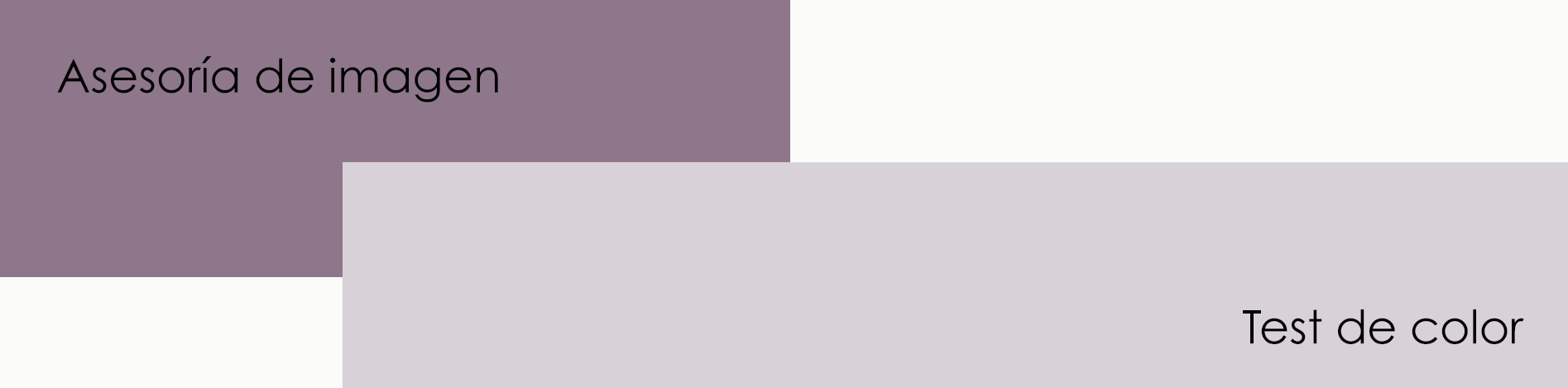 Asesoria de imagen - Test de color